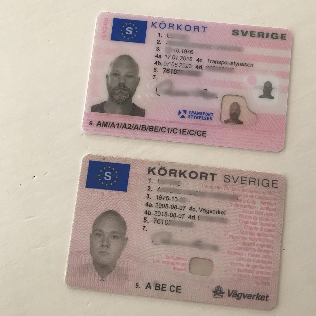 Köp ett svenskt körkort